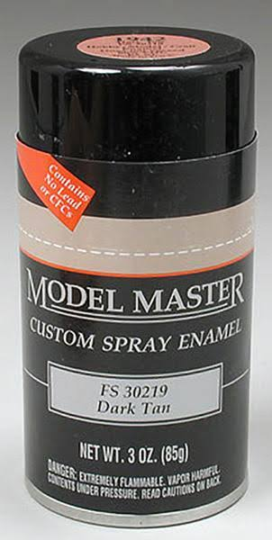 Testors 1942 Spray Dark Tan 30219 3 oz