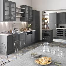cuisines grises meuble de cuisine gris delinia nuage cuisine meuble