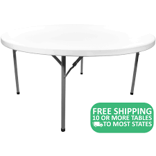 15-pack: Advantage 6' Round Plastic Folding Tables [ADV72R-WHITE-15 ... Lifetime 72 In Black Plastic Stackable Folding Banquet Table280350 Luan 18x72 6 Ft Seminar Wood Table Vinyl Edging Bolt Solid Trestle 8 Folding Chairs Set Best Price Barnsley Uk For Rent Portable 6ft Rattan Design Fniture Lerado 6ft Foldin Half Rect Table Raptor Almond Table22900 Home Depot Canada Tables 6ft And Chairs Lennov 18m Outdoor Camping With Ft Commercial Combo Youtube Exciting Cosco Interesting Tfh Gazebos And Chair Set Indoor Use