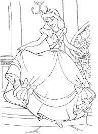 Printable Cinderella Coloring Pages