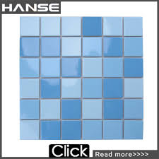 3x3 Blue Ceramic Tile by Md003t 3x3 Pool Tile Swimming Pool Tile Swimming Pool Tiles 6x6
