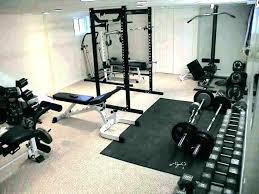 Home Gym Ideas Basement