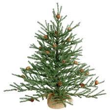 3ft Pre Lit Christmas Tree by Vickerman Carmel Pine Cone Christmas Tree With Burlap Base B803921