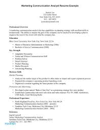 Resume Communication Skills Examples Munication Example 13 Of