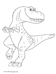 Ramsey Is The Young Trex Child Of Butch Enjoy This Amazing Free Printable Dinosaur Coloring PagesKids
