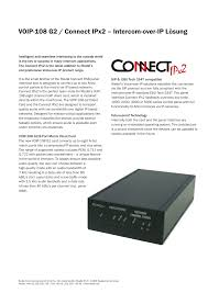 RIEDEL Connect IPx2 User Manual | 2 Pages Comtechphones Blog Business Phone Systems Telephone Voip Fxo Fxs Gateways 481632 Ports Ofxs And Computer Cnection Diagrams Support Er8 Pro Soho Setup Ubiquiti Networks Community Paging Over Ip Kintronics Voip Feature Mzgeitchationicappference Wiki Github Ozeki Pbx How To Connect Windows Provide An Sms Service Your Customers Amazoncom Obi200 1port Adapter With Google Voice Lineseizurecom For A Small 5 Reasons Why Business Should Consider Telus Talks