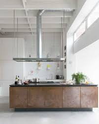 Large Kitchen Island In A Former Primary School Amsterdam