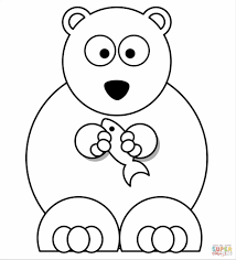 Teddy Bear Coloring Pages Lovely For Kids Free Page Printable