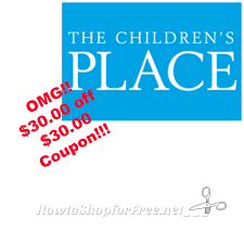 OMG $30 OFF $30 The Childrens' Place Coupon | How To Shop ... Childrens Place Coupon Code Canada Northern Tool Coupons Place Up To 70 Off 30 Coupon Ftm In Store Nice Kicks Deals 846 The Reviews And Complaints Pissed Consumer Ac Milan Usa Bonfire Ocean City Md Code Save 40 Free Shipping Kids Clothes Baby 25 Off Luxe 20 Eye Covers Shop Med Vet Codes Cheap Dental Implants Birmingham Uk Christmas Designers On Twitter Hi Were Sorry For The