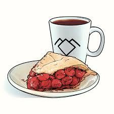 Joshua Budich Damn fine cup of coffee Black coffee cherry