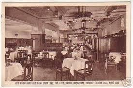 17053 ak magdeburg hotel stadt prag um 1920