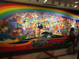 Denver International Airport Murals by Travel Geeks In The Jungle