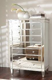 Garbo Mirrored Chest Tall from GlamFurniture $1197 00