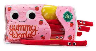 Licorice Candy Kawaii Food Plushies