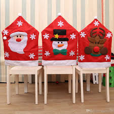 Christmas Chair Covers Santa Claus Snowman Covers Elk Dining Chairs ... Oval Back Ding Chair Covers Stills Home Garden Room Slipcovers Unique Christmas Santa Hat Party Xmas Table Twopiece Dning Chair Back Cover And Seat Cushion Buffalo Etsy Ding Room Covers Iloandsoldiersclub Kitchen Seating Parson Ikea Upholstery Door Revival Styles And Victorian Black Feeling Crafty Sewing Patterns For Bar Stool Henriksdal Plastic Seat Chairs Large Armless Architectural Design Your Chocoaddicts