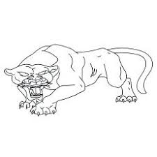A Black Panther Coloring Page Civil War Pages