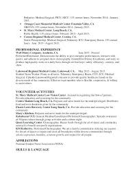 Resume Example For Nurses Beautiful Nurse Manager Examples Your Registered Sample
