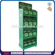 TSD M353 Custom Retail Store Floor Can Dispenser Rack Beer Display Racks