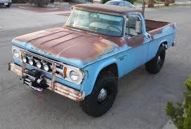 100 1968 Dodge Truck Power Wagon W100 Patina Shop 4X4 Fast Stuff