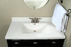 Bertch Bathroom Vanity Specs by Imperial Fw3722spw Center Wave Bowl Bathroom Vanity Top Solid