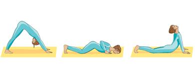 Sun Salutation Yoga Pose Graphic 2