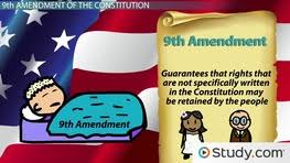 Ninth Amendment Rights Retained By People