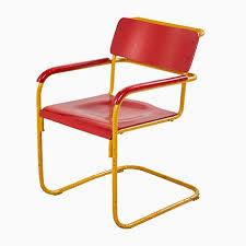 stuhl im bauhaus stil in rot blau 1960er jetzt bestellen