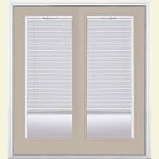 French Patio Doors Outswing Home Depot by Masonite 72 In X 80 In Primed Prehung Right Hand Inswing Mini