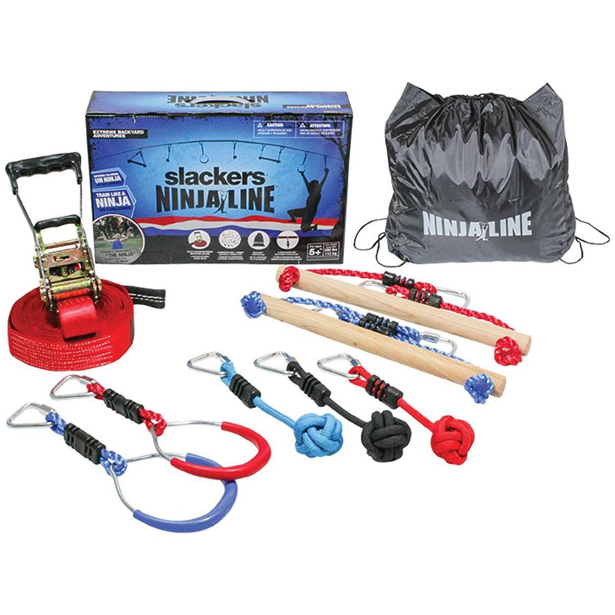 Slackers Ninja Line Intro Kit with 7 Obstacles