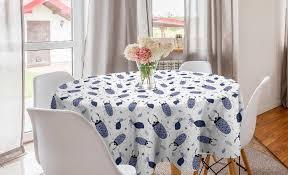 abakuhaus tischdecke kreis tischdecke abdeckung für esszimmer küche dekoration insekten käfer und bugs doodle kaufen otto