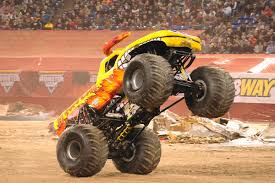 Yellow Monster Jam Truck