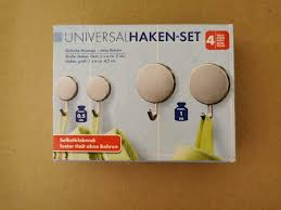 neu 4x universal haken ohne bohren bad küche selbstklebend