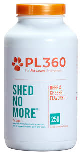 Big Dogs That Dont Shed Bad by Amazon Com Pl360 Shed No More For Dogs 250ct Pet Supplies