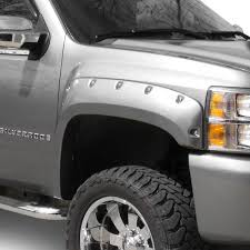 100 Wheel Flares For Trucks T5i Chevy Silverado 2010 G2 PocketRivet Standard Fender