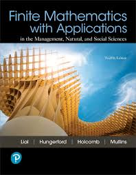 View Larger Cover Finite Mathematics With Applications And MyLab Math Pearson EText Title Specific Access Card Package