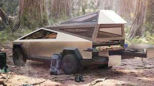 100 Pickup Truck Tent Camper UPDATE Tesla Will Offer Mode As Cybertruck Accessory