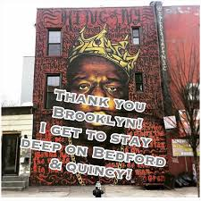 Big Ang Mural Brooklyn by The Notorious B I G Mural In Brooklyn Will Remain On Wall After