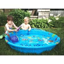 Kiddie Pool Hard Plastic Small Swimming Pools Square Rectangular