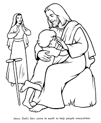 Free Printable Bible Story Coloring Pages