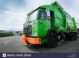 100 Green Truck Garbage Truck Stock Photo 235392521 Alamy
