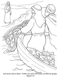 Stylist Inspiration Fishers Of Men Coloring Page