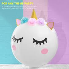 19 Pcs Decorative Balloons DIY Kids Favor Birthday Party Decorations Balloon Set
