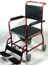 Handicap Toilet Chair With Wheels by Amazon Com Medmobile 3 In 1 Commode Wheelchair Bedside Toilet