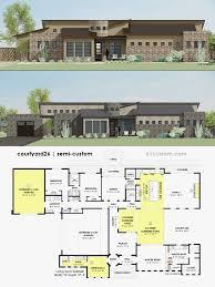 100 Modern Home Blueprints Plans Elegant House Plans Design