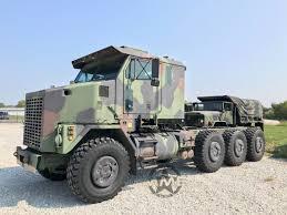 100 Het Military Truck Oshkosh M1070 8x8 HET Heavy Haul Tractor Midwest