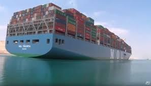 le plus gros porte conteneurs au monde en route vers le maroc