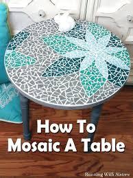 diy mosaic coffee table trnsfer mosaic tile coffee table diy