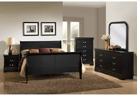 Badcock Bedroom Sets by Philippe Black 8 Pc Queen Bedroom Badcock Home Furniture U0026 More