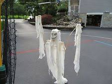 Halloween Flying Ghost Projector by Motorized Christine Flying Crank Ghost Creepy Haunted House
