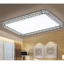 square shape modern flush mount led ceiling lights
